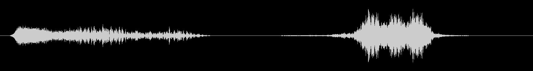 フライバイ10の未再生の波形
