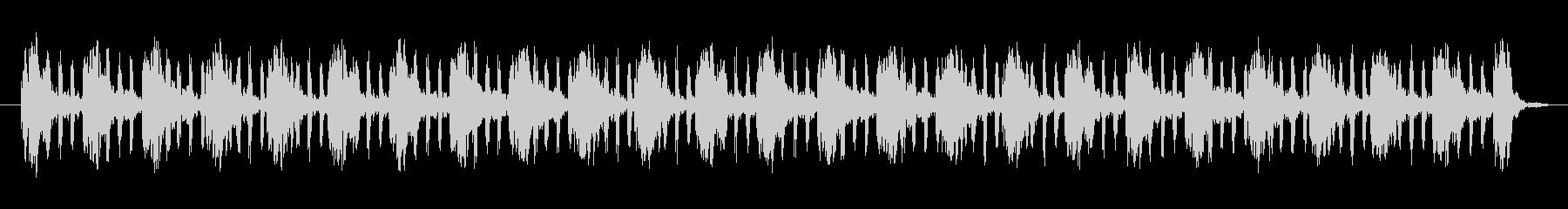 パワーハムパルスノイズの未再生の波形