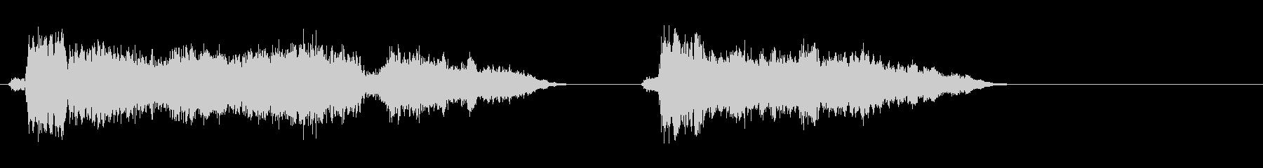 工具 1の未再生の波形