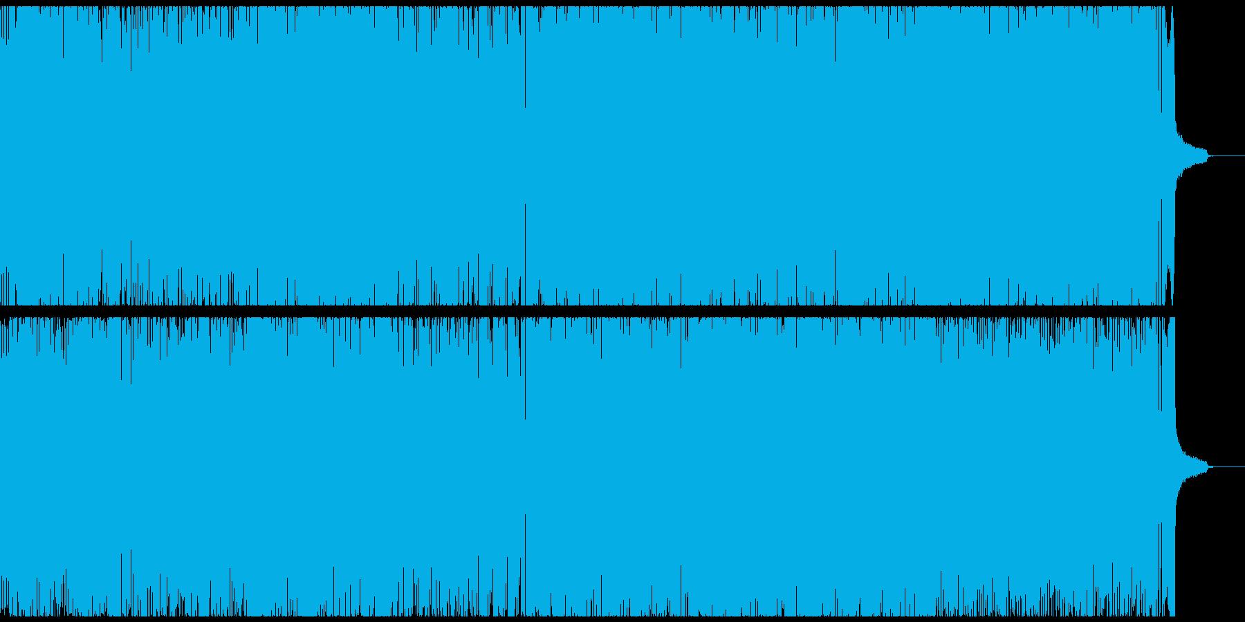 ブラスセクションの効いた陽気なスカの再生済みの波形