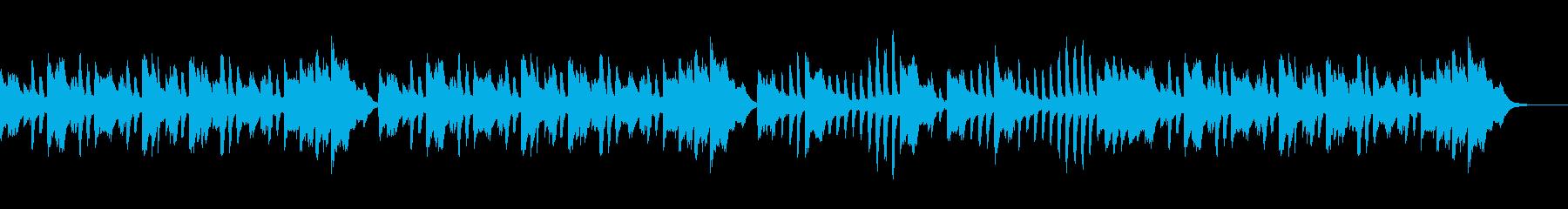 ピアノ練習曲/ブルグミュラー優しく美しくの再生済みの波形
