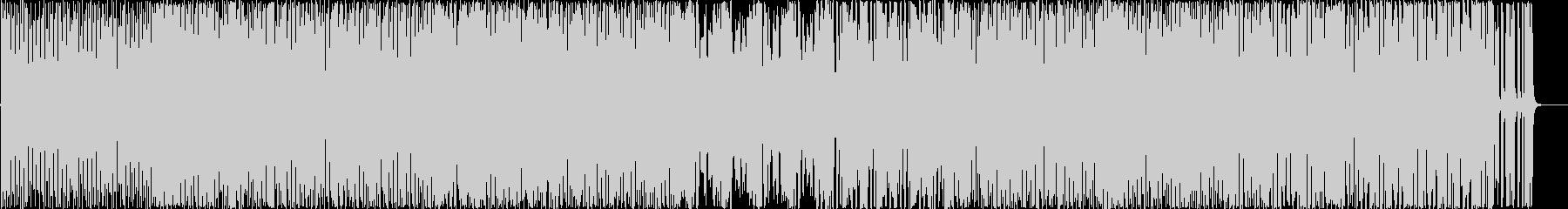 シイタケのイメージソングの未再生の波形