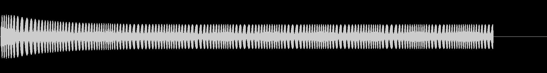 宇宙エンジン-moogの未再生の波形