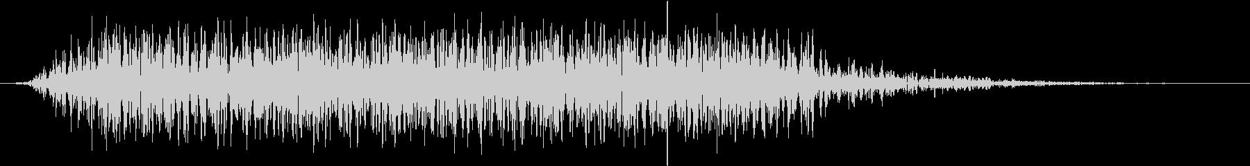 モンスター 悲鳴 51の未再生の波形