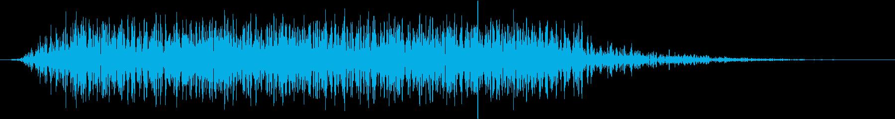 モンスター 悲鳴 51の再生済みの波形