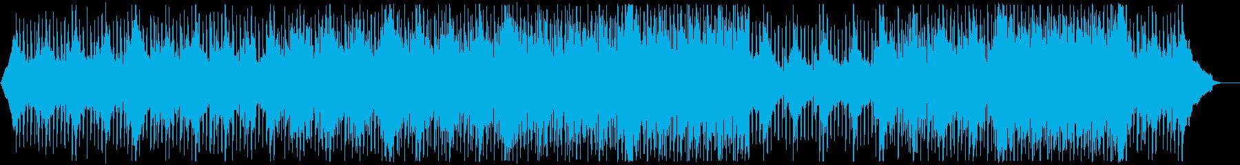 グローバル企業風ピアノ&ギター:メロ無2の再生済みの波形