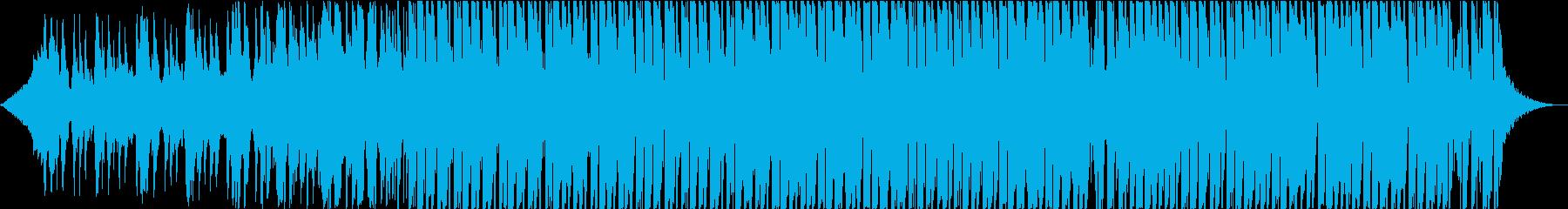 Deep House Musicの再生済みの波形
