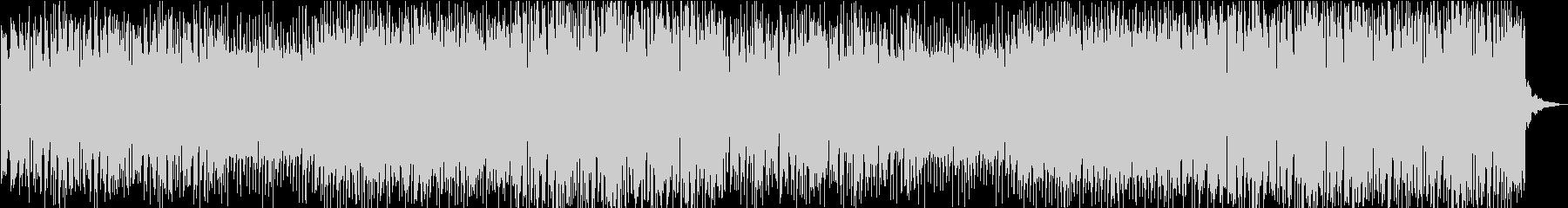 勢いのあるアップテンポなパンクロックの未再生の波形