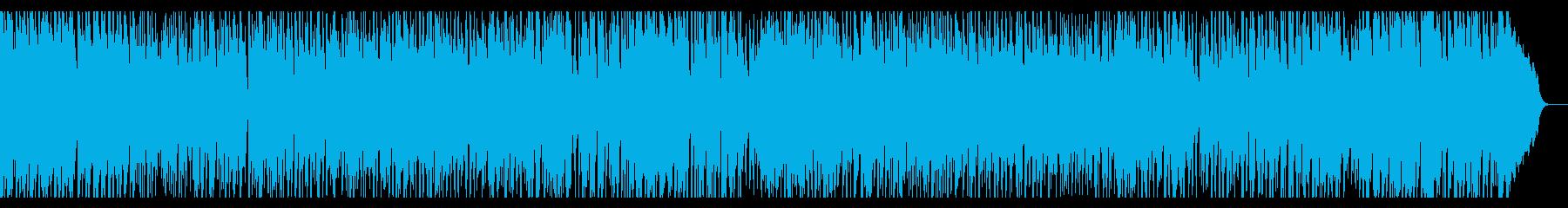 生音・生演奏・軽快で陽気なブルーグラスの再生済みの波形