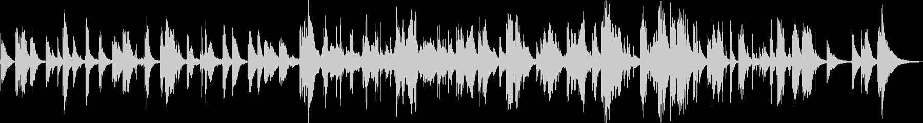 ピアノ~アメイジンググレイス愛のささやきの未再生の波形