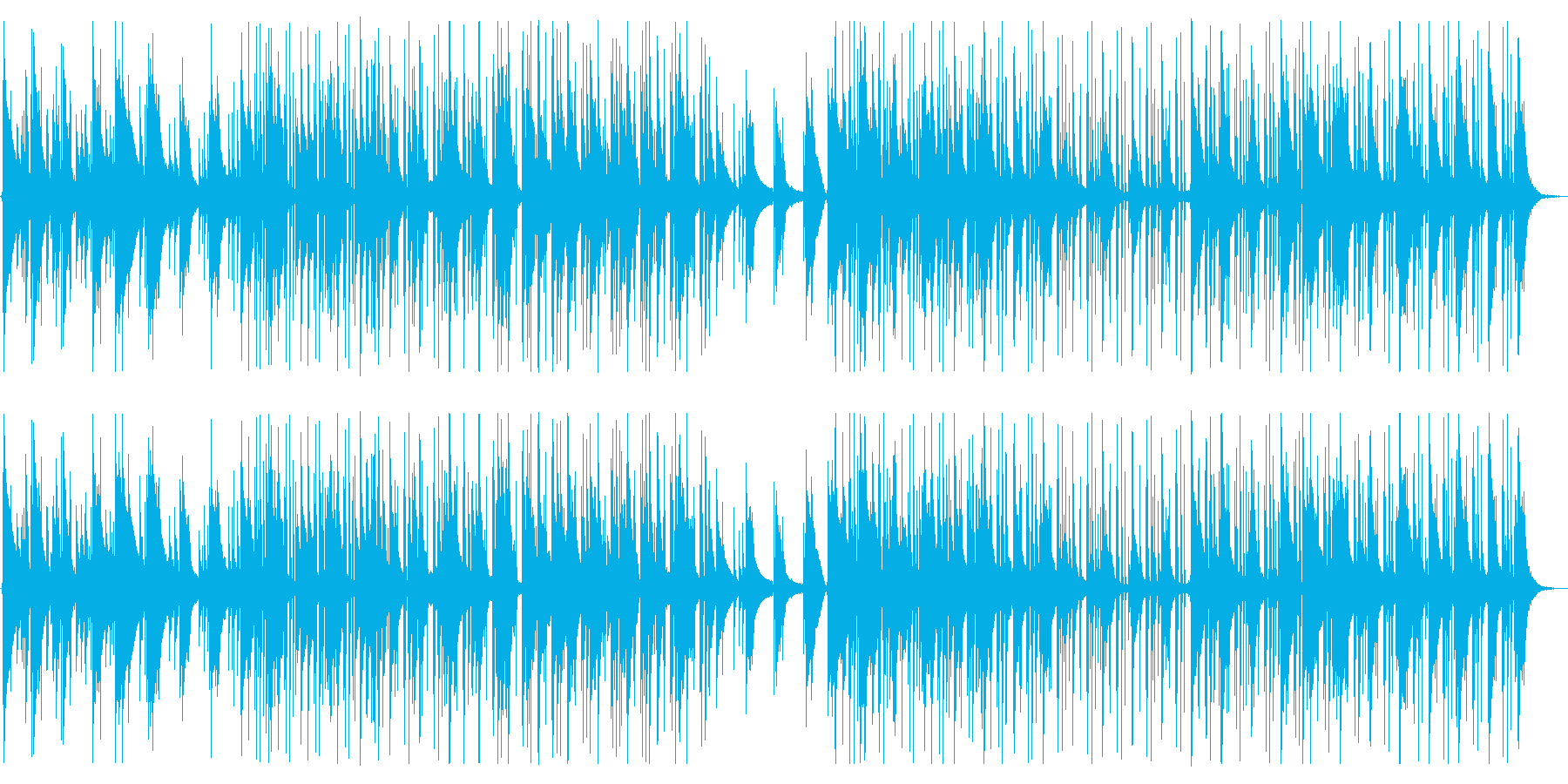【生演奏】Lofi/Chill/まどろむの再生済みの波形