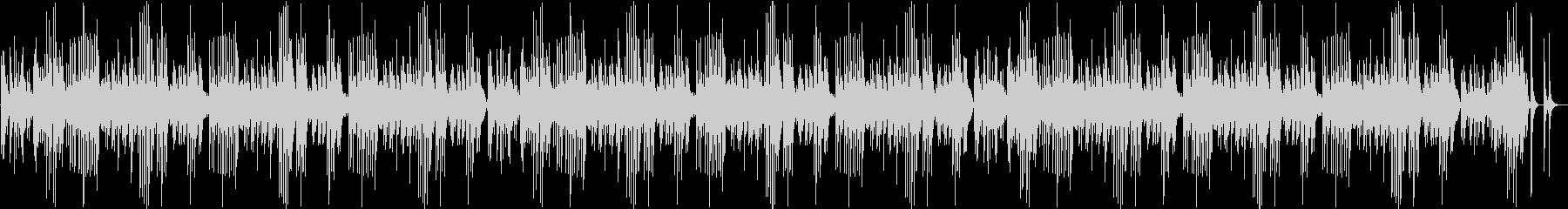 童謡「ひなまつり」のオルゴールによる演奏の未再生の波形