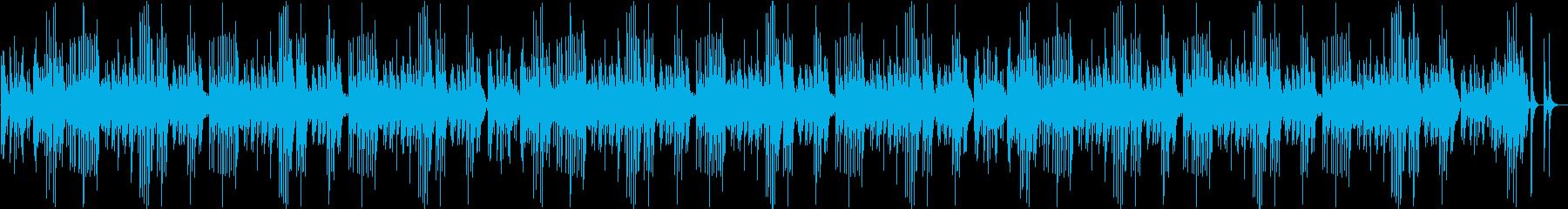 童謡「ひなまつり」のオルゴールによる演奏の再生済みの波形