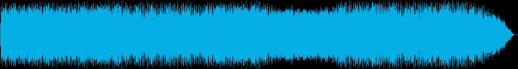 のどかな風のヒーリングミュージックの再生済みの波形