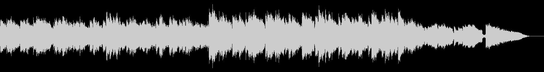 感動の場面に合うギターのメロディループの未再生の波形