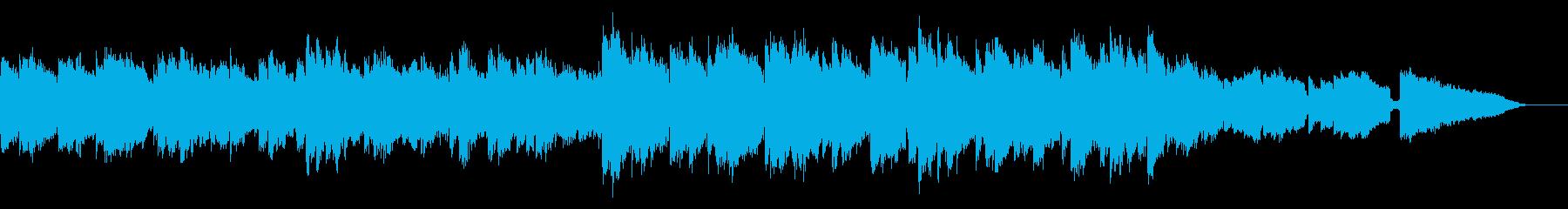 感動の場面に合うギターのメロディループの再生済みの波形
