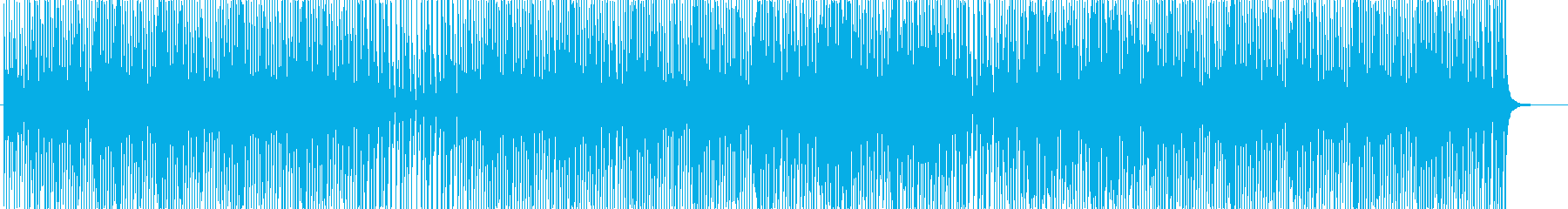ピアノとウクレレ♬のキュートポップ-動画の再生済みの波形