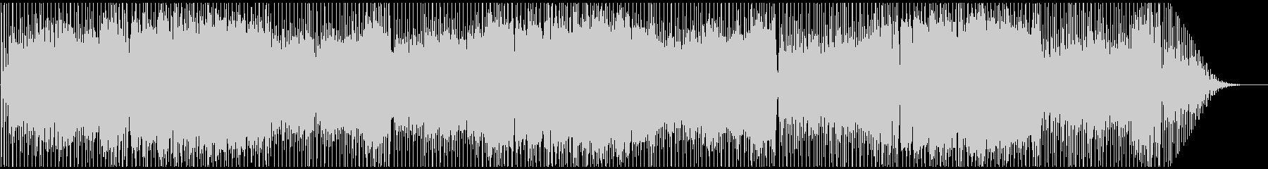 カンフー・中華風・アレンジバージョンの未再生の波形