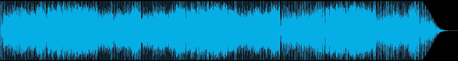 カンフー・中華風・アレンジバージョンの再生済みの波形