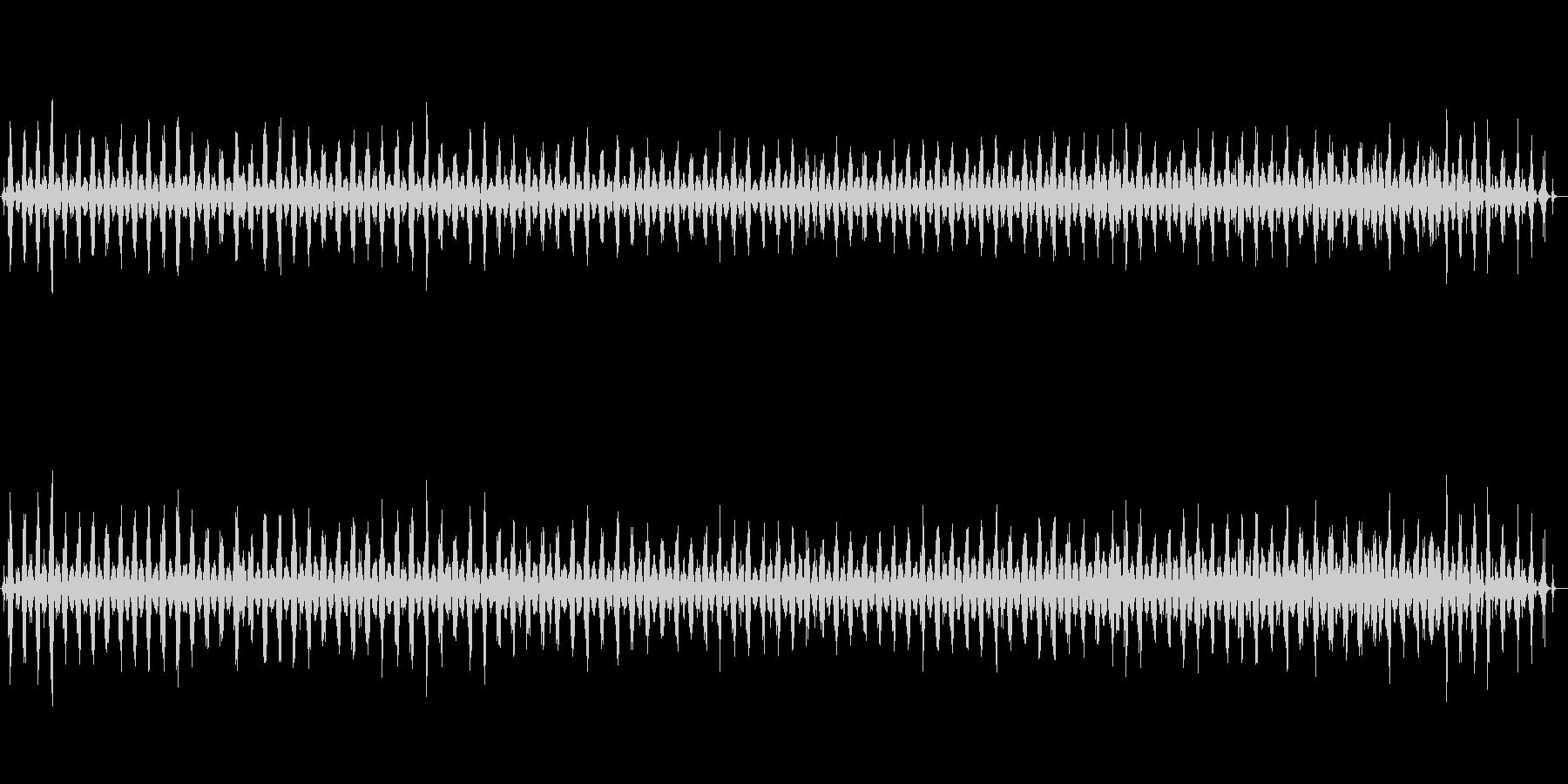 ハンドソー切断木材の未再生の波形