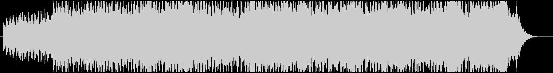 静かなピアノ・エレクトロニカの未再生の波形