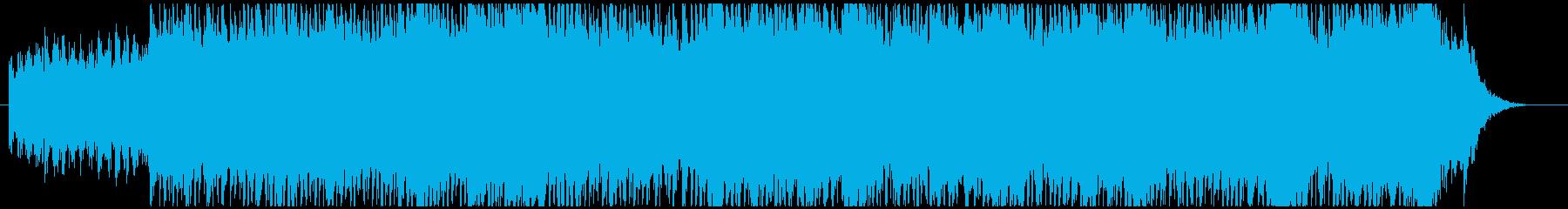 静かなピアノ・エレクトロニカの再生済みの波形