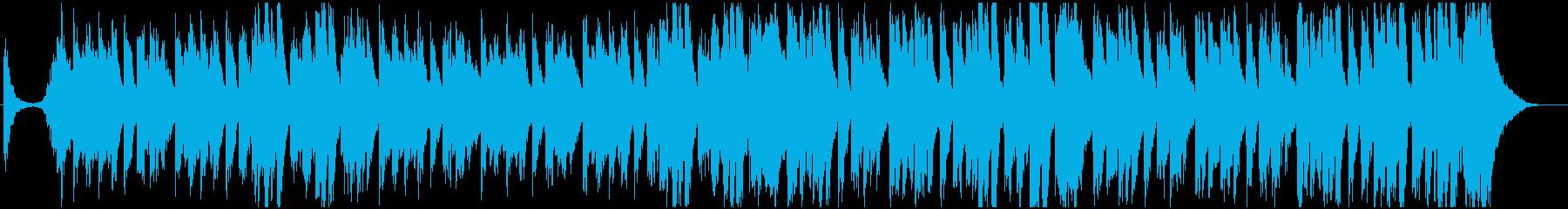 ディズニー風、明るく賑やかなマーチの再生済みの波形