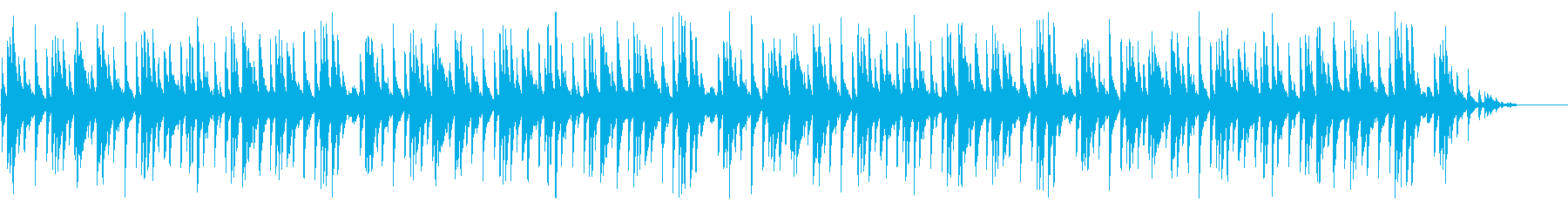 童謡「紅葉」シンプルな琴のアレンジの再生済みの波形