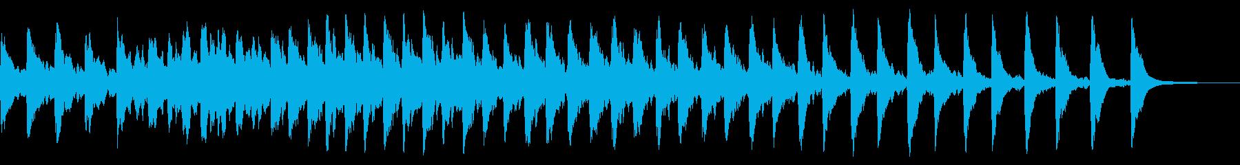 レプトン教会C#ベル:リンギングの再生済みの波形
