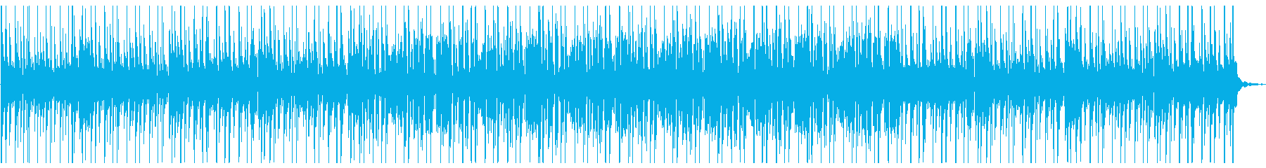 (夏)癒し風鈴とフルートの日本風ビートの再生済みの波形