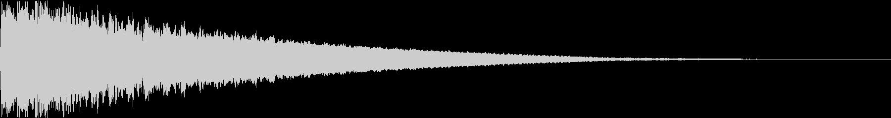 シャキーン キュイーン シュキーン 01の未再生の波形