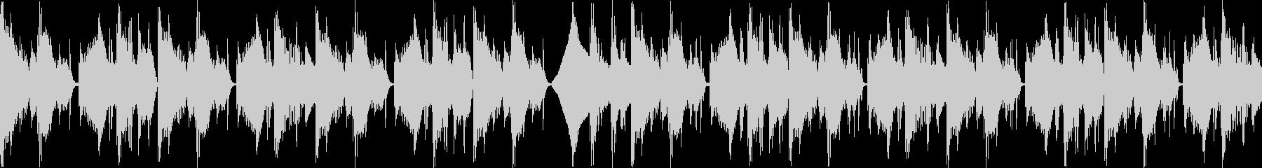【メロなし・ループAメロ】不穏/なEDMの未再生の波形