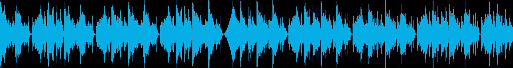 【メロなし・ループAメロ】不穏/なEDMの再生済みの波形
