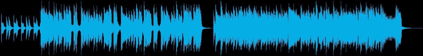 30秒 CMに!わくわく、おしゃれな曲。の再生済みの波形