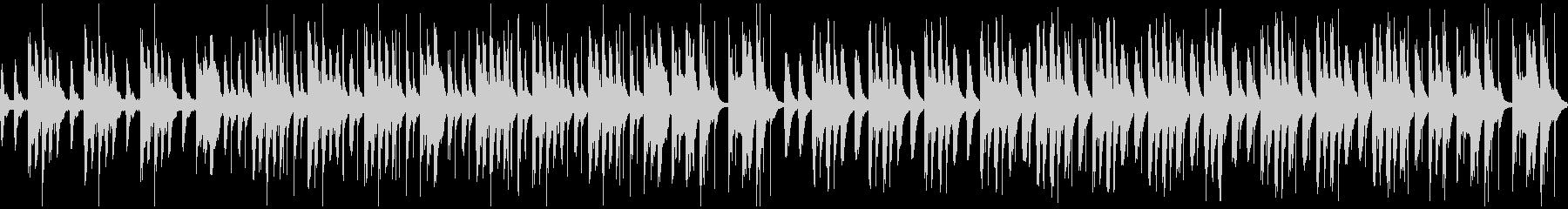 劇伴・コミカルなBGM:2の未再生の波形