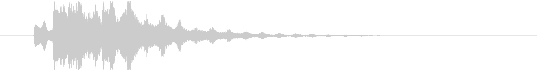不気味なアルペジオ 11の未再生の波形