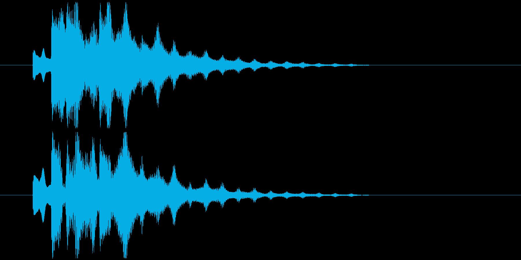 不気味なアルペジオ 11の再生済みの波形