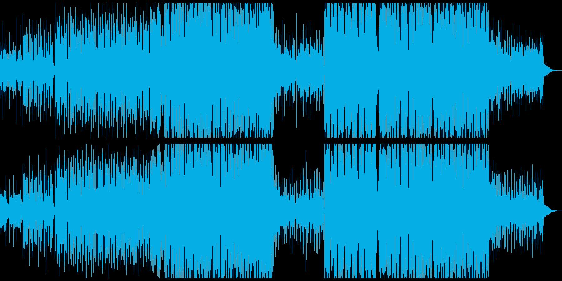 定番だけどエモいFUTURE BASSの再生済みの波形