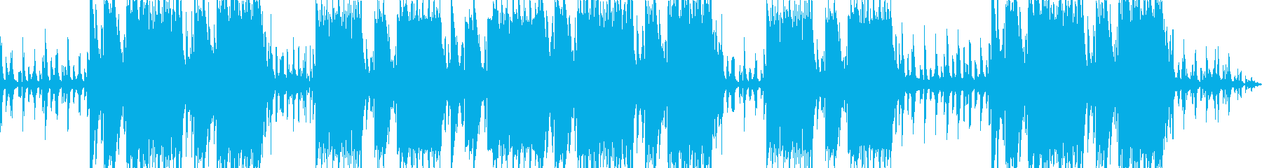 切なく哀愁漂うエモトラップサウンドの再生済みの波形