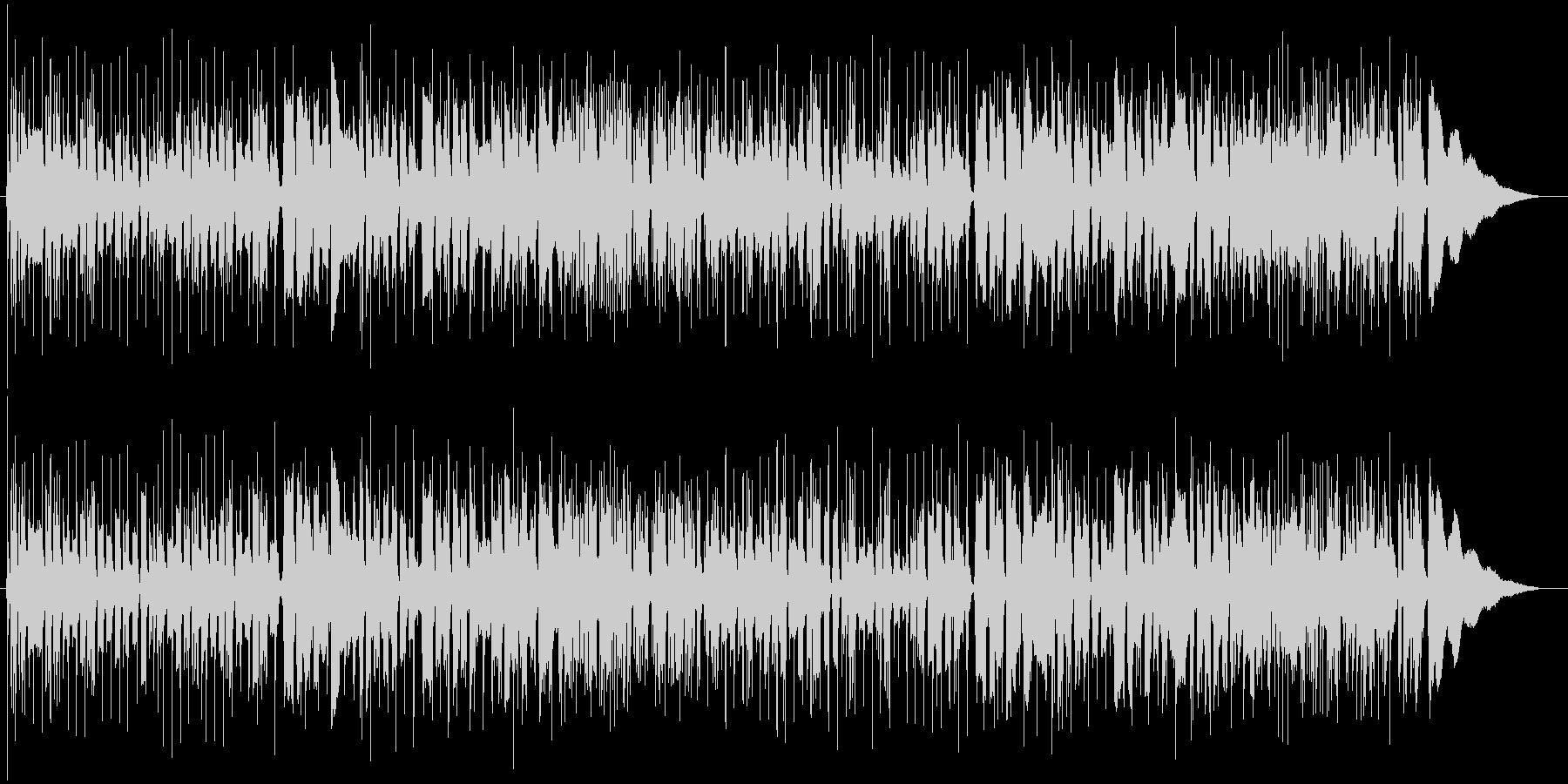 スラム奏法アコギソロギターの未再生の波形