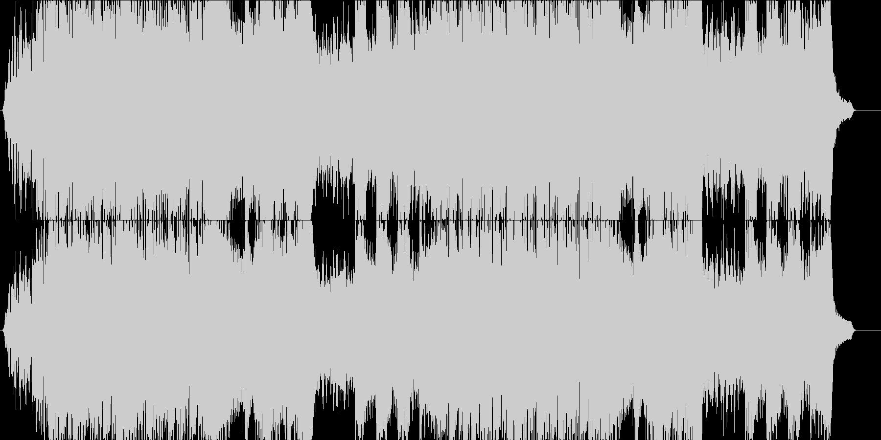 ダークファンタジーの未再生の波形