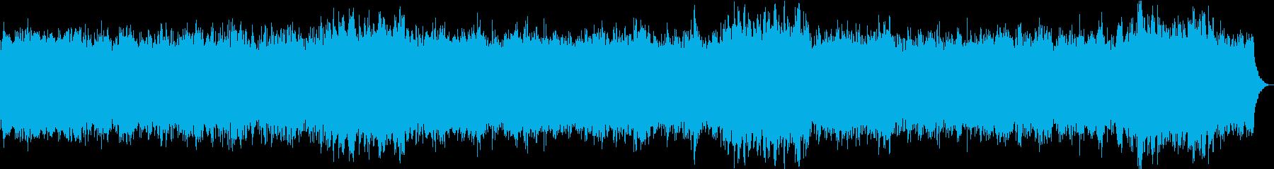 おだやかキラキラ/静かめカラオケの再生済みの波形