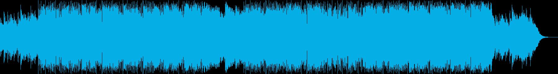 クールなDrum'NBassの再生済みの波形