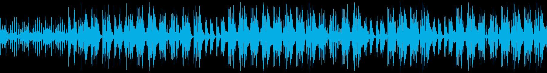 和風SFの壮大なパーカスエレクトロの再生済みの波形