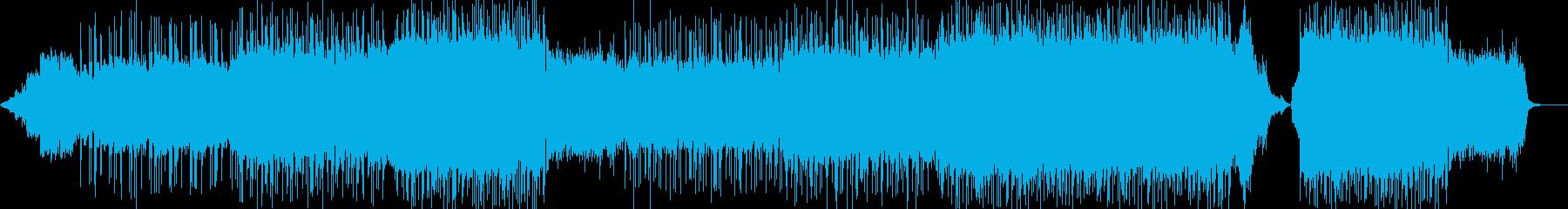 雑踏の中での再生済みの波形