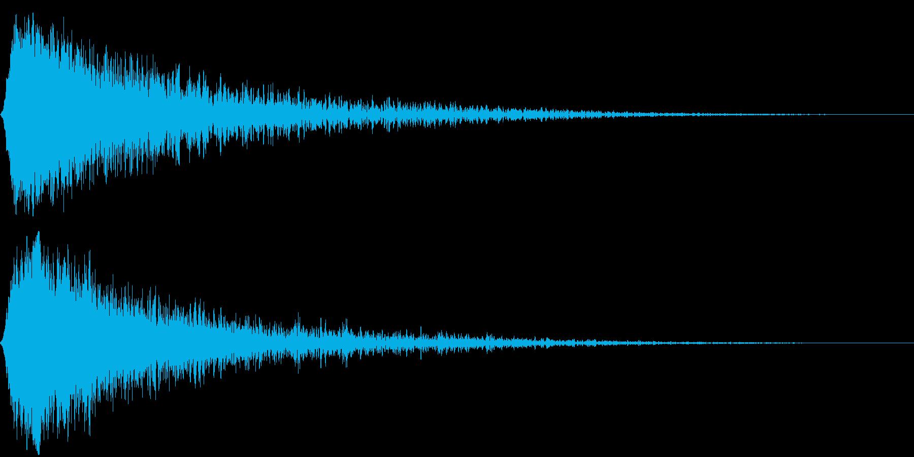 シャキーン キラーン☆強烈な輝き20bvの再生済みの波形