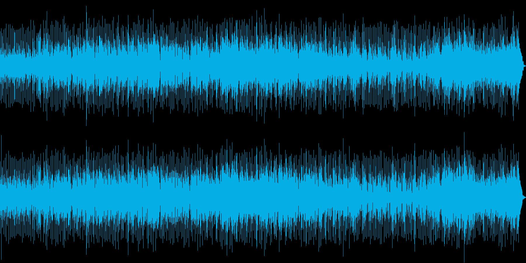 ケニーG調のサックス曲の再生済みの波形
