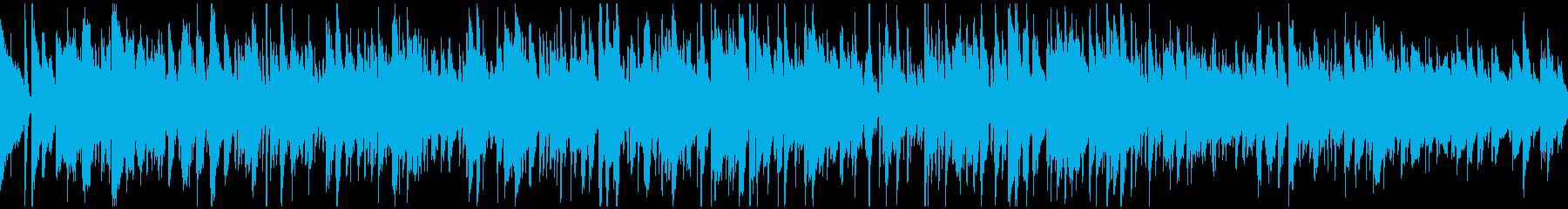 優しいボサノバ、素敵なメロディ※ループ版の再生済みの波形