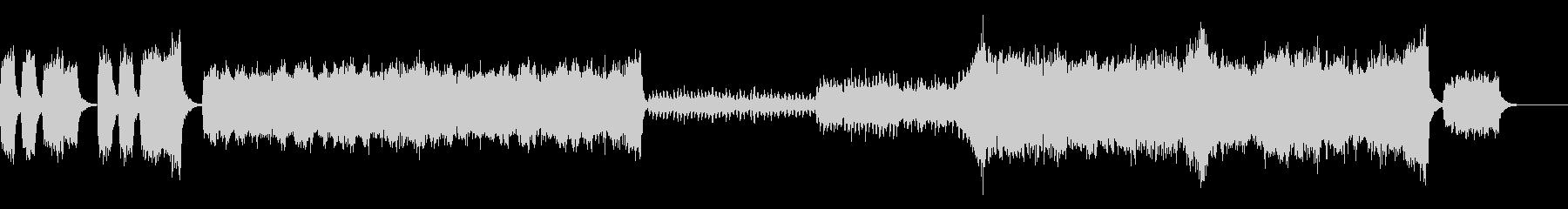 合唱系の壮大な音楽です。の未再生の波形