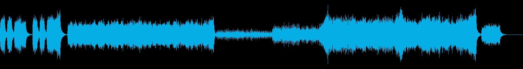 合唱系の壮大な音楽です。の再生済みの波形